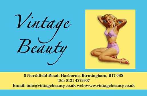 offer - Vintage Beauty Harborne Birmingham